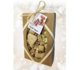 Canis Prosper Dárková vánoční krabička plná dobrot pro psy mix sušenek 300 g