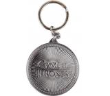 Epee Merch Hra o Trůny Game of Thrones Klíčenka kovová 4,5 x 6 cm