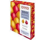 Ovo Tekuté barvy Duo Oranžová/Hnědá 2 barvy á 20 ml : 1 sáček (20 ml)