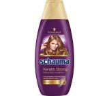 Schauma Keratin Strong posilující šampon pro jemné nebo slabé vlasy 400 ml