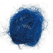 Andělské vlasy krepaté modré 1 kus