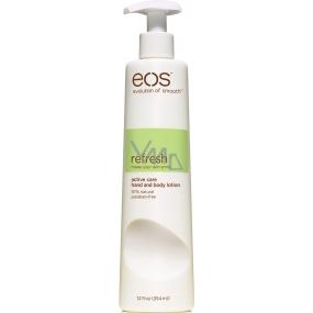 Eos Refresh Active Care Hand & Body Lotion hydratační tělové mléko 354 ml
