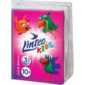 Linteo Kids mini papírové kapesníky 3 vrstvé 1 kus
