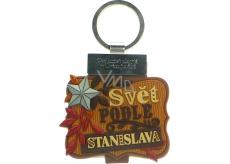 Albi Knížka se jménem na klíče Svět podle Stanislava 6 x 9,5 cm