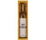 Bohemia Gifts & Cosmetics Chardonnay No stress bílé dárkové víno 750 ml