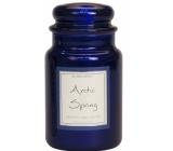 Village Candle Příslib jara - Arctic Spring vonná svíčka ve skle 2 knoty 602 g
