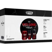 Str8 Red Code voda po holení 50 ml + deodorant sprej 150 ml + sprchový gel 250 ml, dárková sada