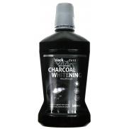 Mattes Black Dent Activated Charcoal Whittening aktivované organické uhlí ústní voda 500 ml