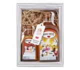 Bohemia Gifts Domácí štěstí - Argan sprchový gel 250 ml + sůl do koupele 110 g kosmetická sada