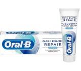 Oral-B Gum & Enamel Repair Original zubní pasta univerzální, vlastnosti: ochrana dásní, ochrana skloviny a ochrana před zubním kazem 75 ml
