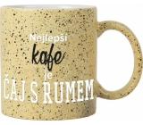 Albi Kameninový hrnek Nejlepší kafe 570 ml