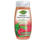 Bione Cosmetics Malina & Máta relaxační vlasový šampon 260 ml