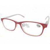 Berkeley Čtecí dioptrické brýle +1,5 plast červené 1 kus MC2136