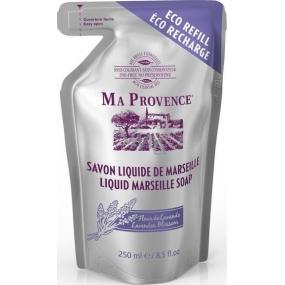 Ma Provence Bio Květ Levandule tekuté mýdlo náhradní náplň 250 ml