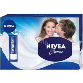 Nivea Intenzivní krém 250 ml + Labello Classic Care balzám na rty 4,8 g,pro ženy kosmetická sada
