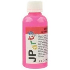 JP arts barva na textil na světlé materiály svítící ve tmě neon růžová 50 g