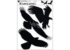 Samolepka siluety ptáci 42 x 30 cm č.2