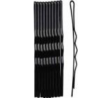 Duko Vlasové spony 525B černá 5 cm 10 kusů