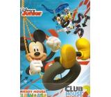 Ditipo Dárková papírová taška 26,4 x 12 x 32,4 cm Disney Mickey, Club House