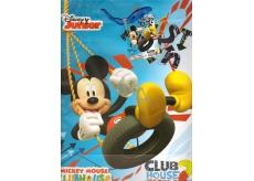 Ditipo Disney Dárková papírová taška dětská L Mickey, Club House 26,4 x 12 x 32,4 cm