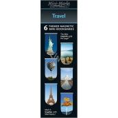 If Mini Mark Záložky Travel 6 kusů