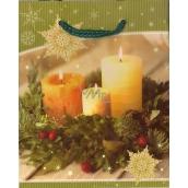 Albi Dárková papírová malá taška 13,5 x 11 x 6 cm Vánoční TS3 96246