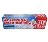 Alufix Sáčky na ledové srdíčka samouzavírací 160 srdíček 10 sáčků