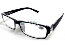 Berkeley Čtecí dioptrické brýle +2,5 plast černé 1 kus MC2062