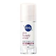 Nivea Deo Beauty Elixir Deomilk Sensitive kuličkový antiperspirant deodorant roll-on 40 ml