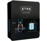Str8 Live True toaletní voda pro muže 50 ml + deodorant sprej pro muže 150 ml, dárková sada