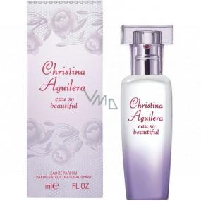 Christina Aguilera Eau So Beautiful parfémovaná voda pro ženy 30 ml