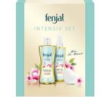 Fenjal Intensive sprchový olej pro ženy 225 ml + tělový olej 145 ml + tuhé mýdlo 90 g, kosmetická sada