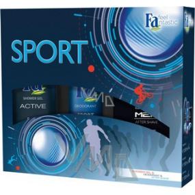 Fa Men Sport II. sprchový gel 250 ml + deodorant sprej 150 ml + voda po holení 100 ml, kosmetická sada