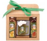 Bohemia Gifts & Cosmetics Pivrnec Pivní lázně Sprchový gel 100 ml + Šampon na vlasy 100ml + Tuhé mýdlo 70 g, kosmetická sada