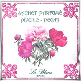 Le Blanc Pivoine - Pivoňka Vonný sáček 11 x 11 cm 8 g