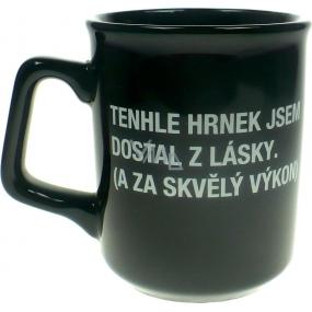 Albi Black & White Hrnek Z Lásky 260 ml