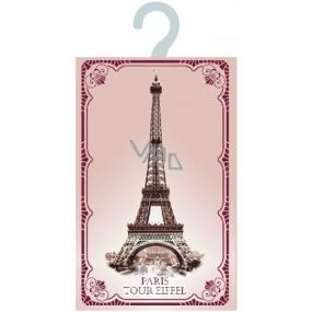 Le Blanc Růže Paris Tour Eiffel Vonný sáček ramínko 17,5 x 11 cm 8 g
