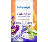 Tetesept Herbs & Oil Mučenka a pomeranč koupelová sůl s pečujícími oleji 60 g + 15 ml