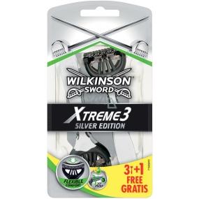 Wilkinson Sword Xtreme 3 Silver Edition holicí strojek pro muže 4 kusy