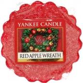 Yankee Candle Red Apple Wreath - Věnec z červených jablíček vonný vosk do aromalampy 22 g
