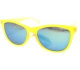 Dudes & Dudettes Sluneční brýle pro děti žluté KK4040B