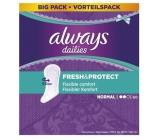 Always Dailies Fresh & Protect Normal s jemnou vůní slipové intimní vložky 60 kusů