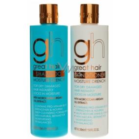 Baylis & Harding Marocký Arganový olej šampon na vlasy 500 ml + kondicionér na vlasy 500 ml, kosmetická sada