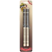 Nekupto Hobby dřevěné tužky Vášnivý cestovatel 2 kusy