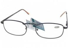 Berkeley Čtecí dioptrické brýle +2,5 hnědé kov 1 kus MC2007