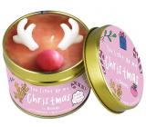Bomb Cosmetics Vánoční sob - You Light Up My Christmas vonná přírodní, ručně vyrobena svíčka v plechové dóze hoří až 35 hodin