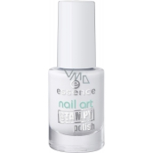 Essence Nail Art Stampy Polish lak na razítka 01 White 5 ml