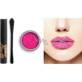 Glitter Lips dlouhotrvající lesk na rty se třpytkami Molly Dolly 3,5 ml