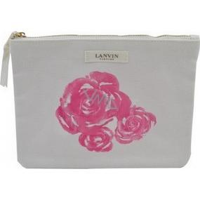 Lanvin kosmetická taštička bílá 22 x 16 x 1 cm