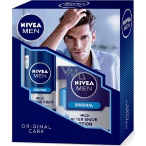 Nivea Original pěna na holení 200 ml + Original voda po holení 100 ml,pro muže kosmetická sada